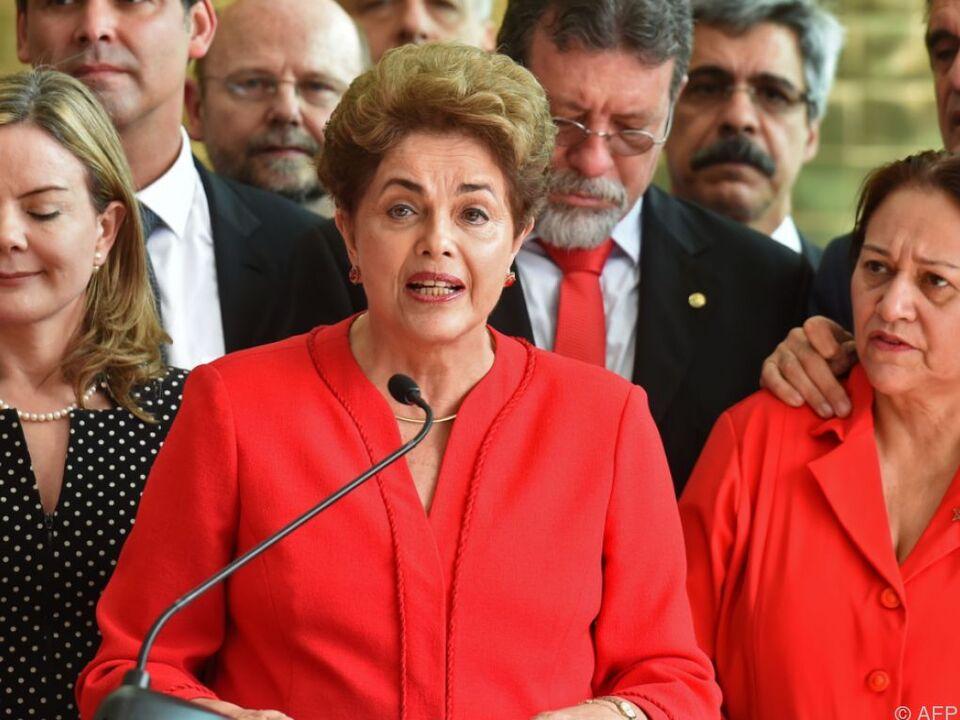 Dilma Rousseff: Ansprache nach der Amtsenthebung