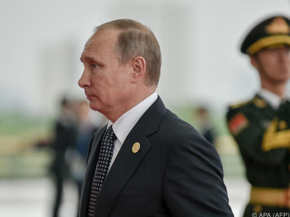 Einreise- und Vermögenssperren für Vertraute Putins verlängert