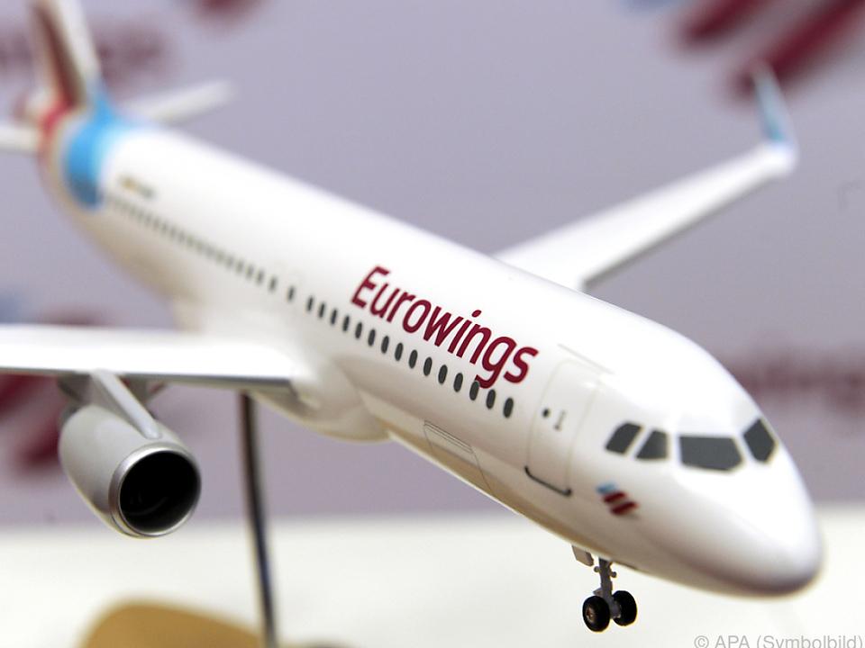Bisher vier Flüge wegen Eurowings-Streik gestrichen