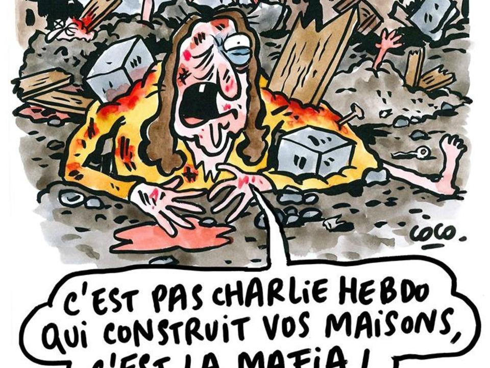 facebook-Charlie Hebdo Karikatur