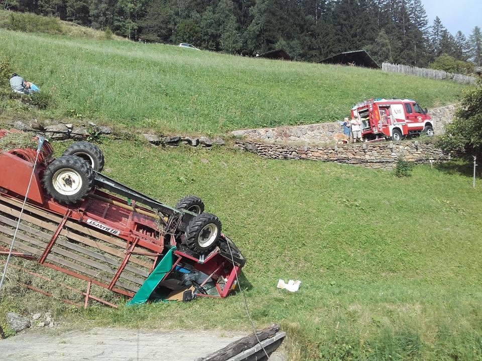 FF St. Gertraud-Ulten Traktorunfall I