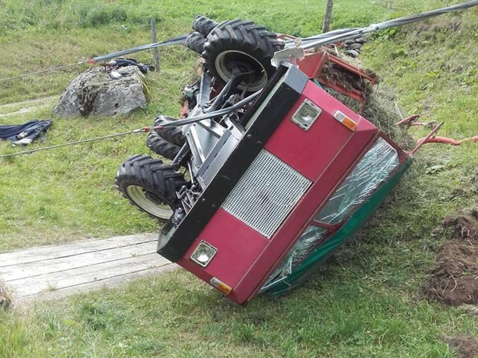 FF St. Gertraud-Ulten Traktorunfall II