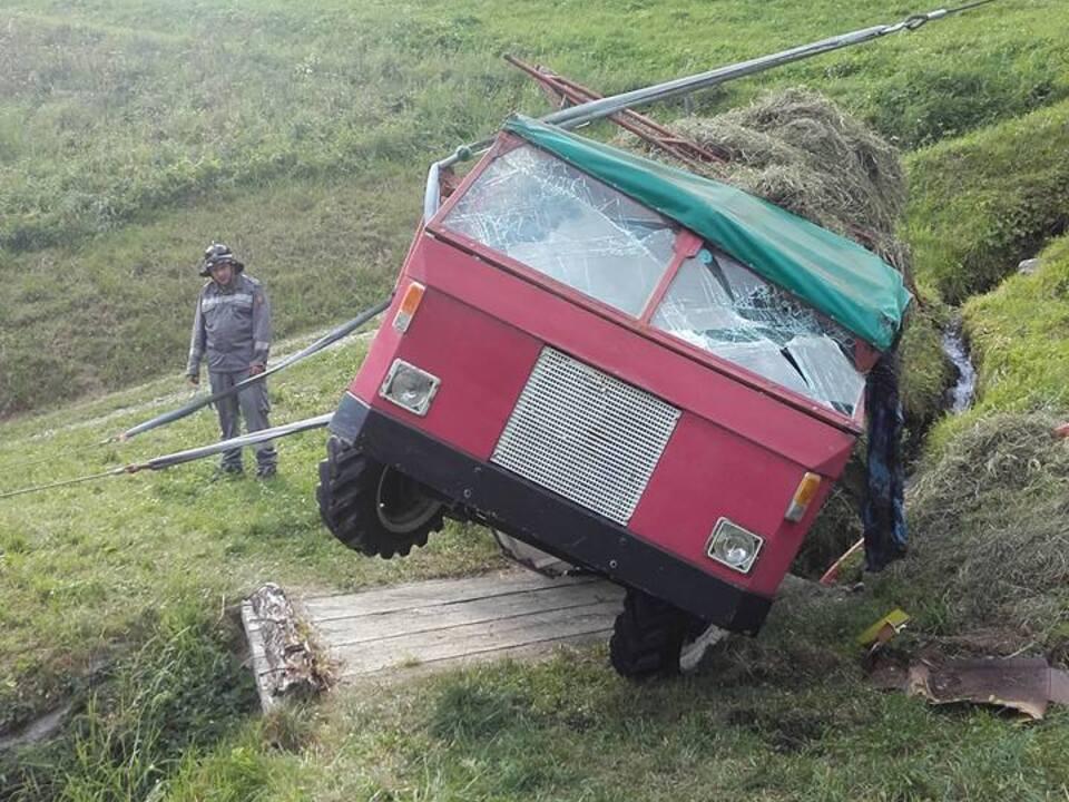 FF St. Gertraud-Ulten Traktorunfall III