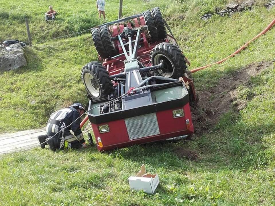 FF St. Gertraud-Ulten Traktorunfall IV