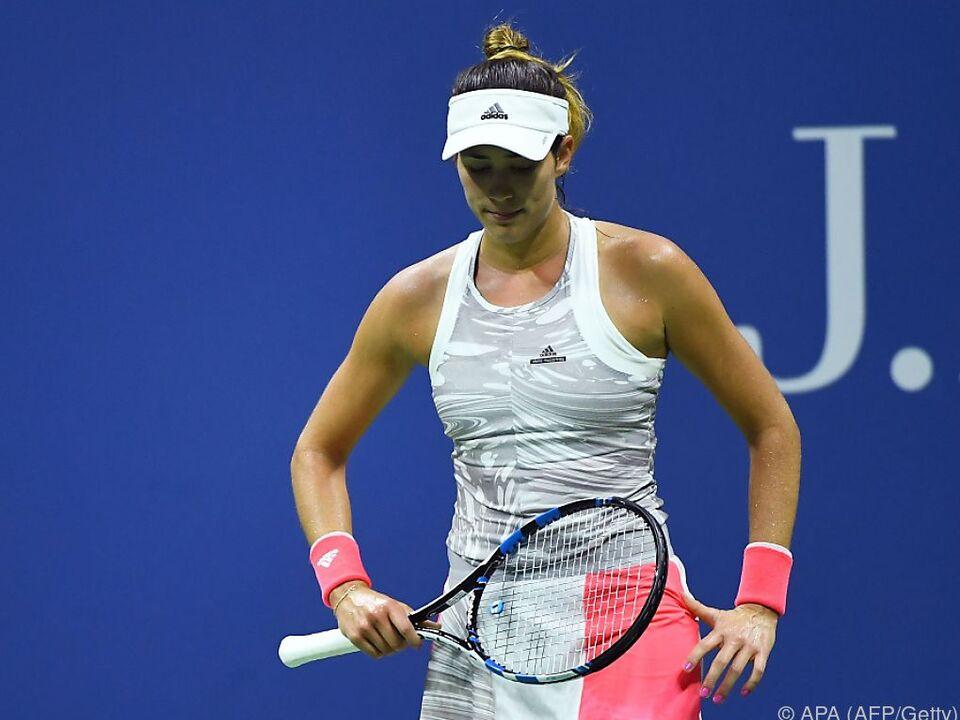 Frühes Aus für French-Open-Siegerin Garbine Muguruza