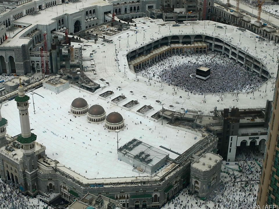 Für Moslems ist die Pilgerfahrt Pflicht