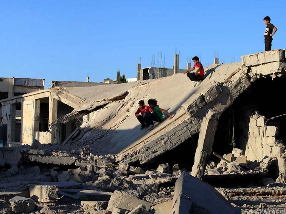 Gebanntes Warten in Syrien nach Inkrafttreten der Waffenruhe