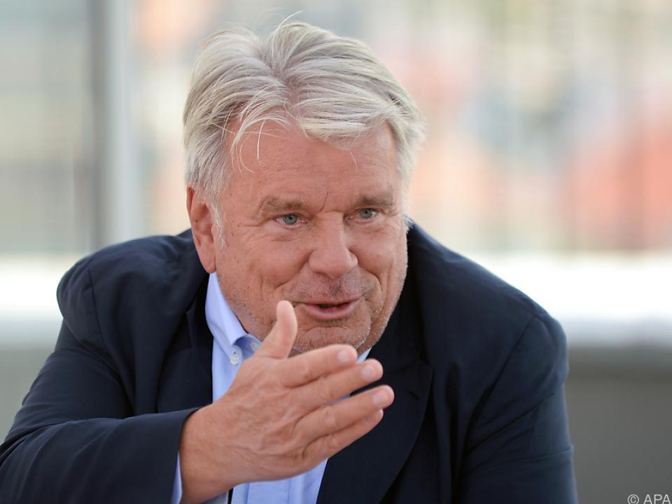 Hans Peter Haselsteiner zu Streitgespräch mit FPÖ-Granden bereit