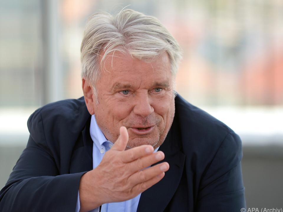 Haselsteiner fürchtet sich vor Wahlsieg Hofers