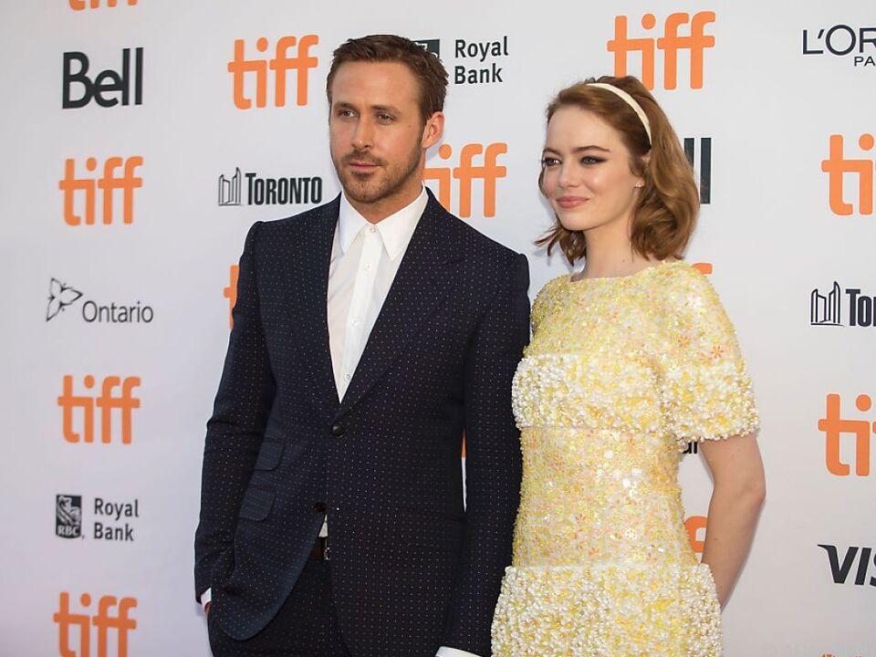 Hauptdarsteller Ryan Gosling und Emma Stone