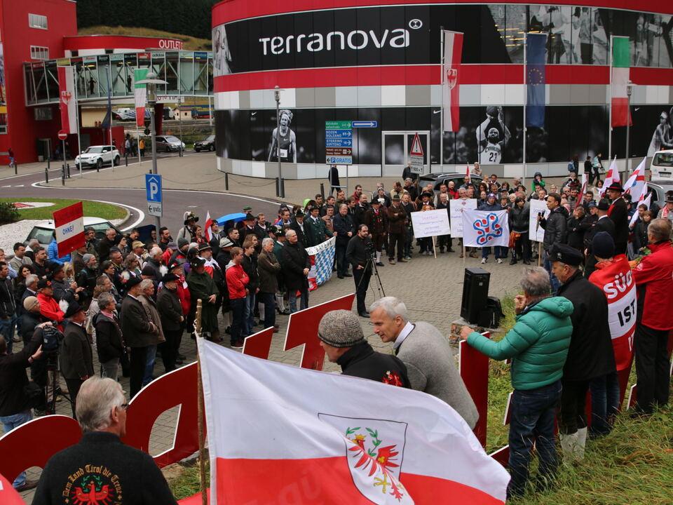Brennerkundgebung Süd-Tiroler Freiheit, STF