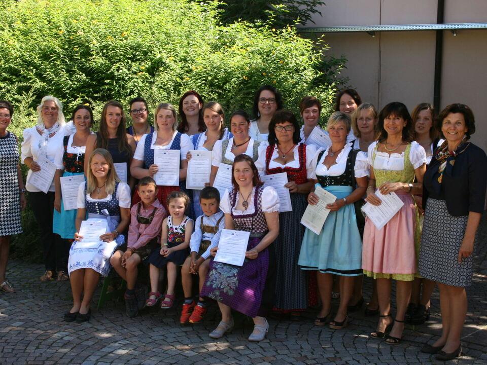 Tagesmütter 2016 Diplom