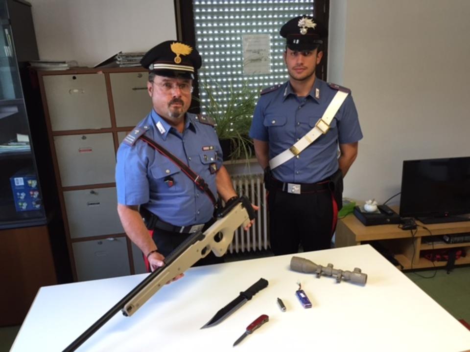 gestohlenes Luftdruckgewehr