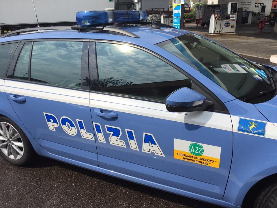 Polizei Straßenpolizei a22 blaulicht staatspolizei autobahn