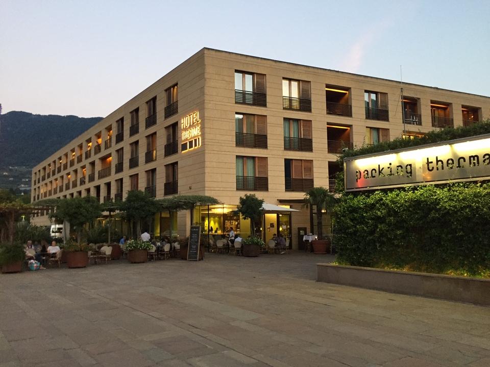 Meran Therme Hotel Platz