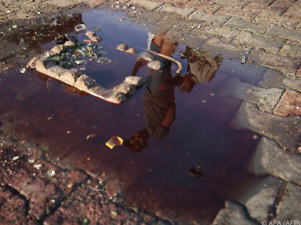 In Bagdad ist man an Blut leider gewöhnt