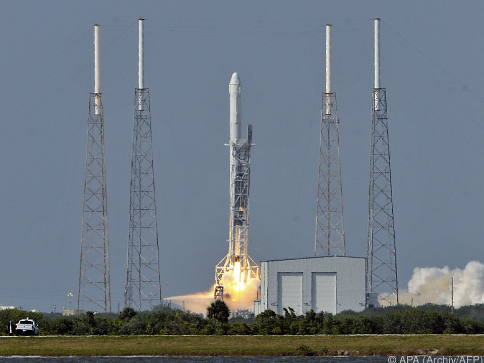 In Cape Canaveral ereignete sich die Explosion