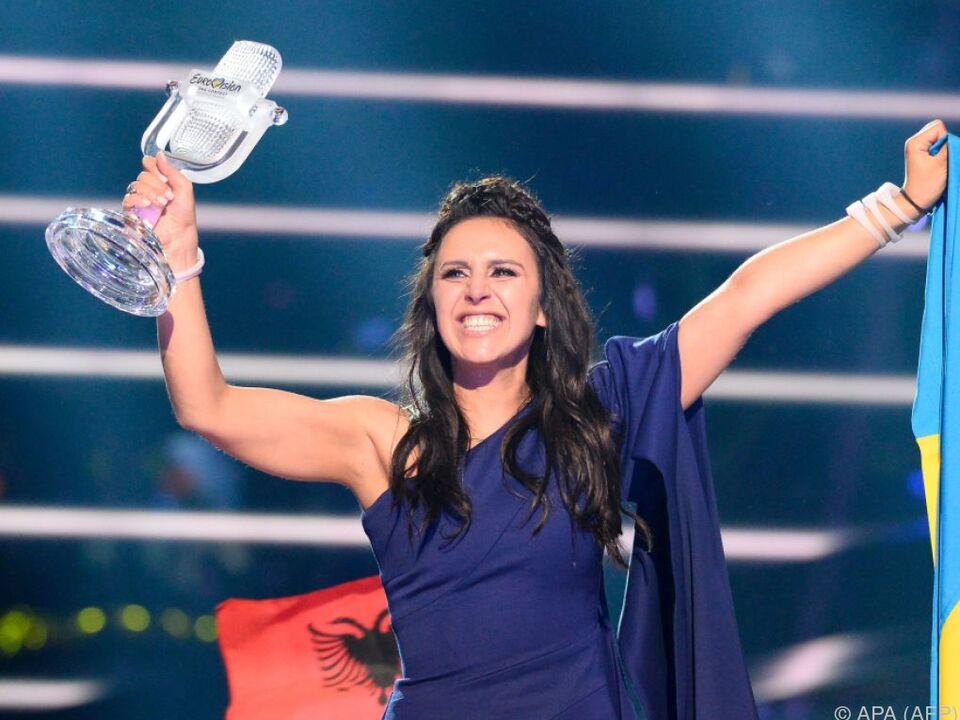 Jamalas Sieg bringt den Song Contest nach Kiew