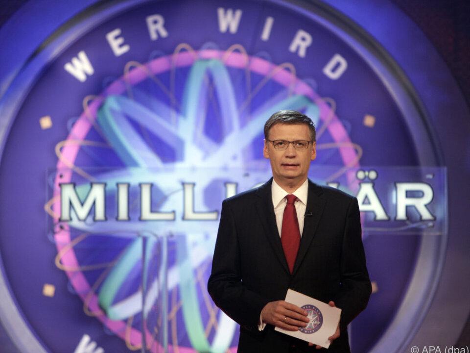 Jauch ist eines der bekanntesten Fernsehgesichter Deutschlands