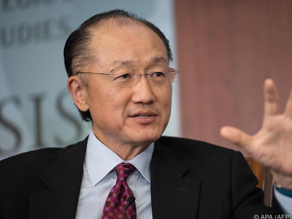 Jim Yong Kim bleibt weitere fünf Jahre im Amt