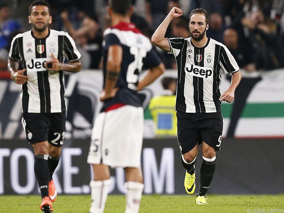 Juventus schlug Cagliari 4:0