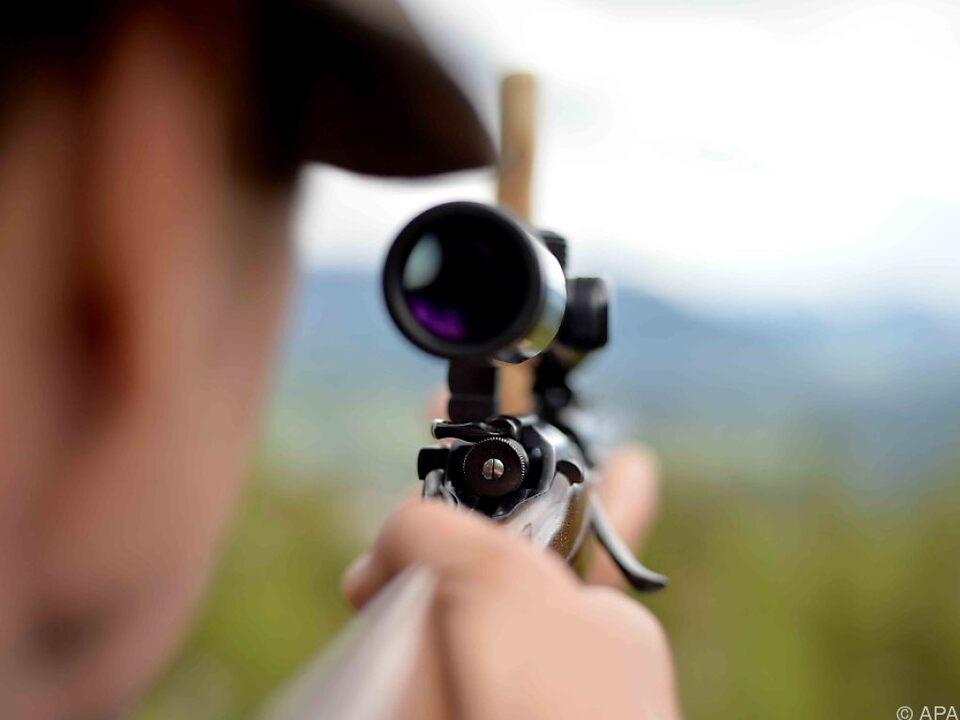 Gewehr Jagd Jäger