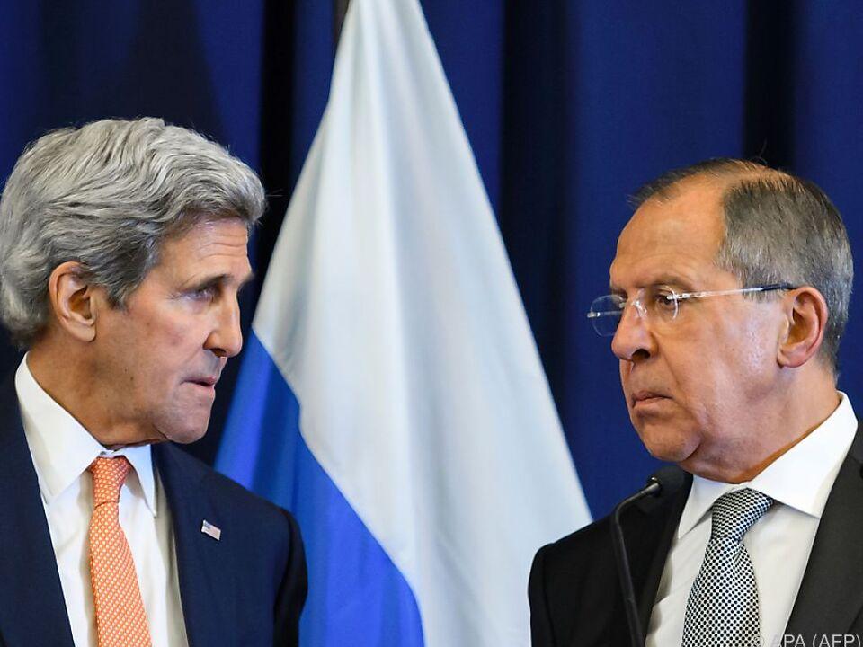 Kerry und Lawrow verhandelten in Genf