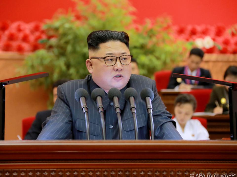 Kim Jong-Un setzte trotz Verwarnungen die Raketentests fort
