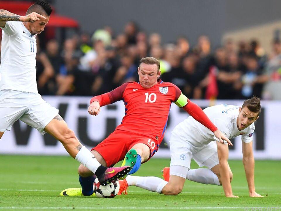 Knapper Sieg für England in Bratislava
