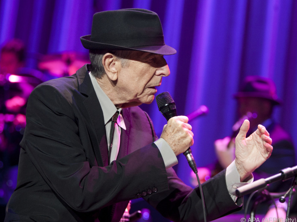Leonard Cohen bringt mit 82 sein 14. Album auf den Markt