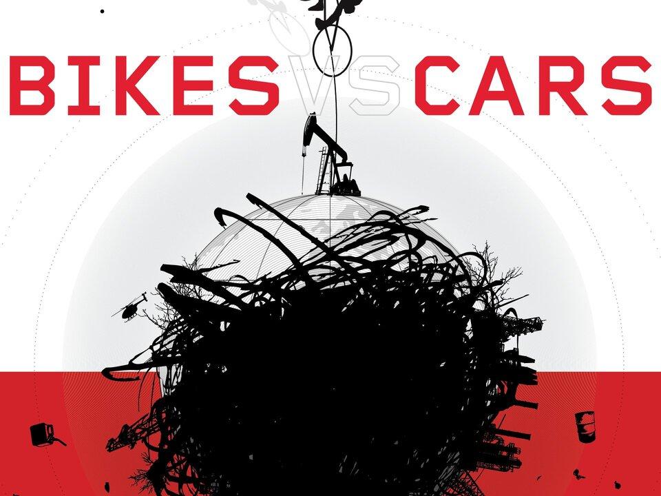 Logo Bikes vs Cars Film