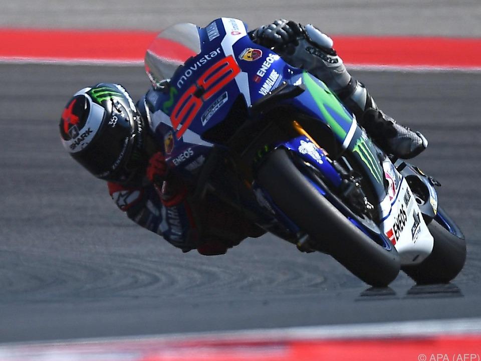 Lorenzo für GP gut gerüstet