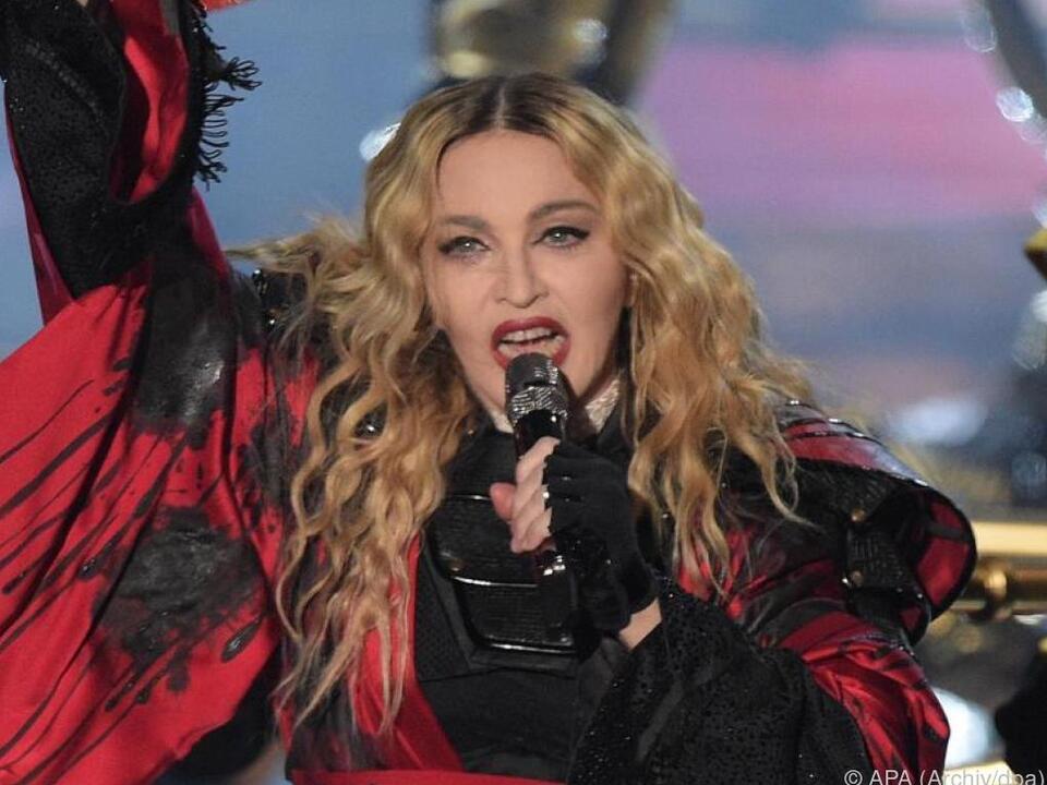 Madonna beschwört den Geist der Familie