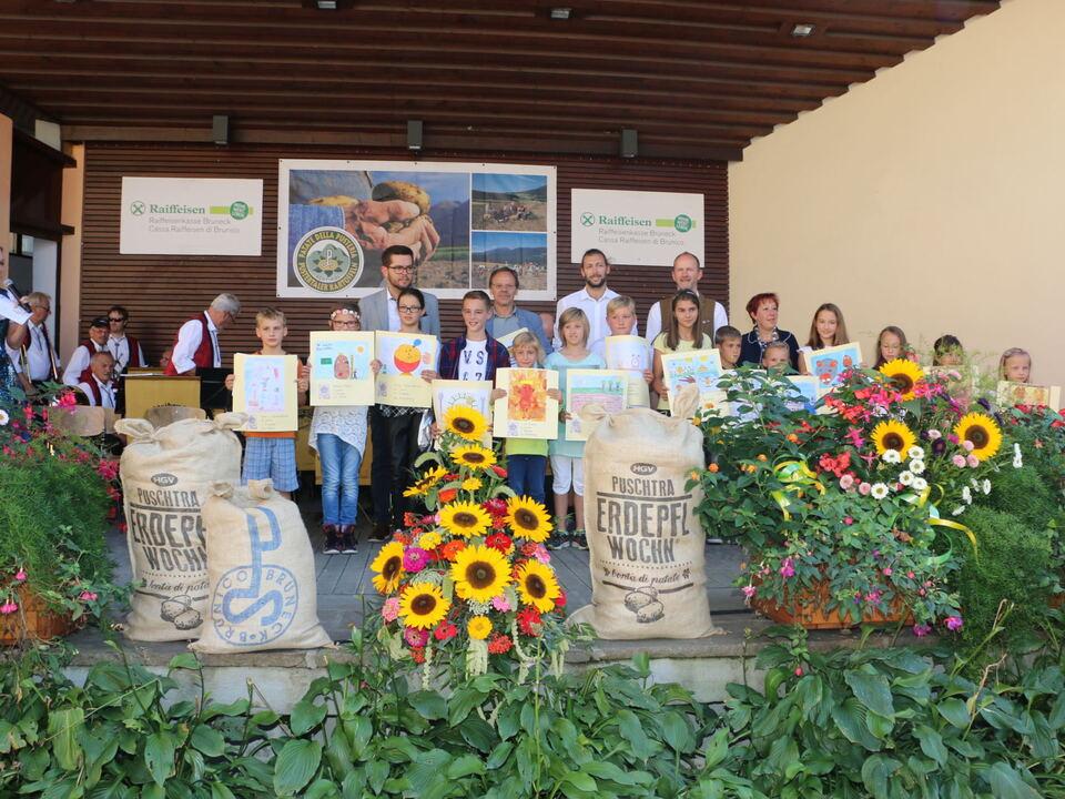 Puschtra Erdäpfelwochen Malwettbewerb Sieger 2015