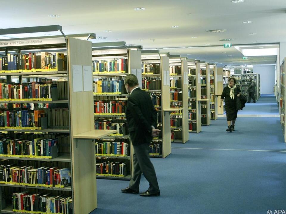 Mehr Geld für Büchereien