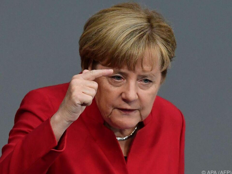 Merkel will sich auch nicht der Sprache der AfD annähern