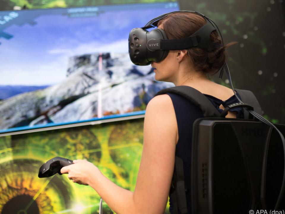 Der VR-Rucksack Walker wiegt 3,8 Kilogramm