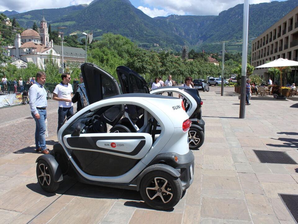 Mobilitätswoche Elektro-Auto e-car