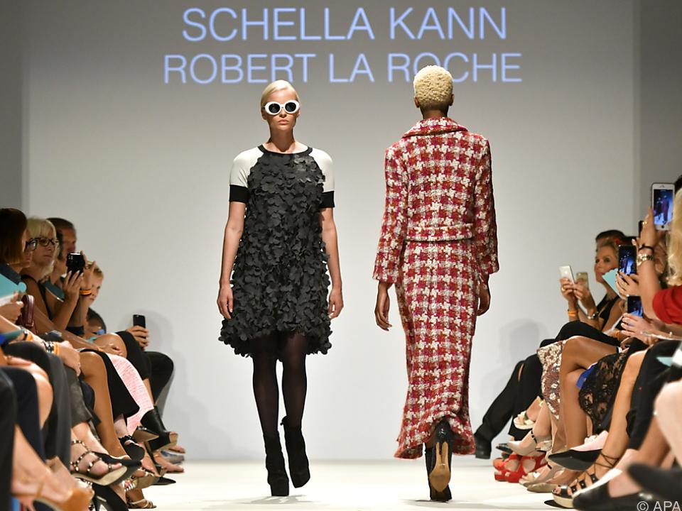 Mode-Schaulaufen bei der Eröffnung der Vienna Fashion Week