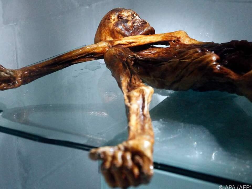 Ötzi Mumie des Eismannes vor 25 Jahren entdeckt