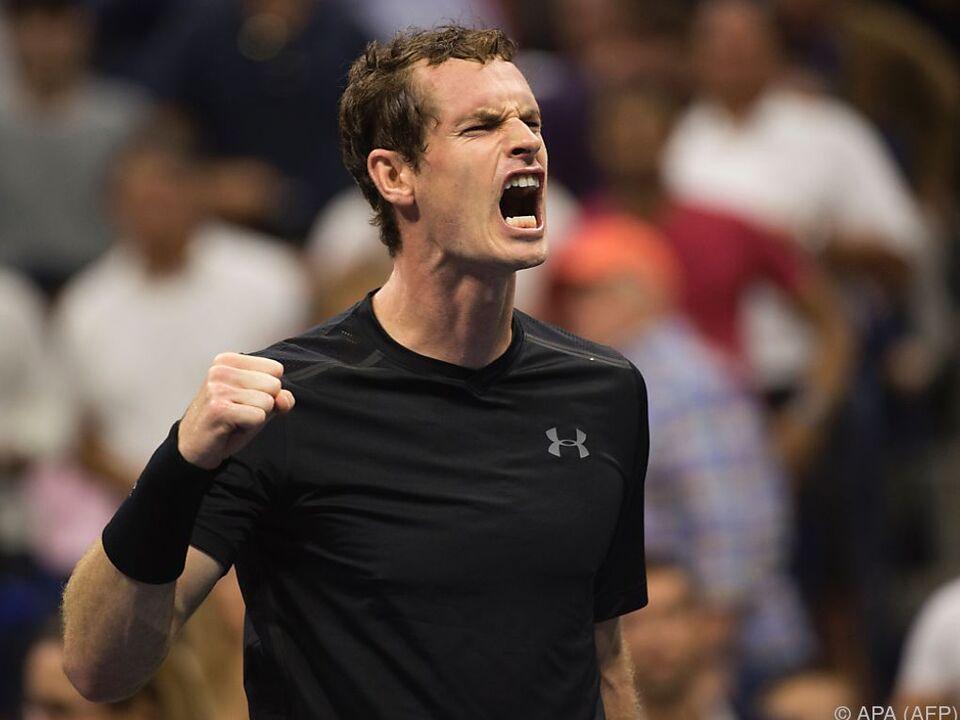 Murray nimmt Kurs auf seinen vierten Grand-Slam-Titel