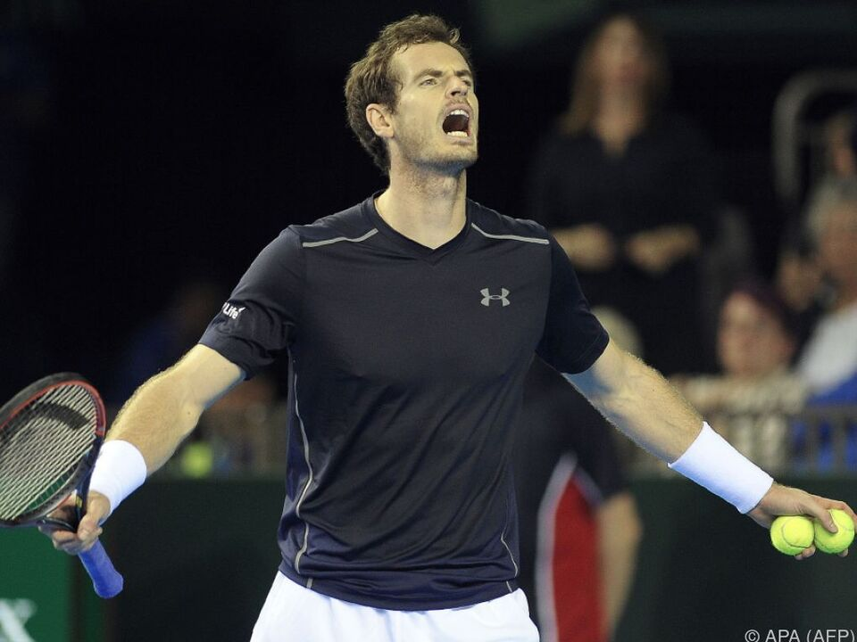 Murray verlor Tennis-Krimi