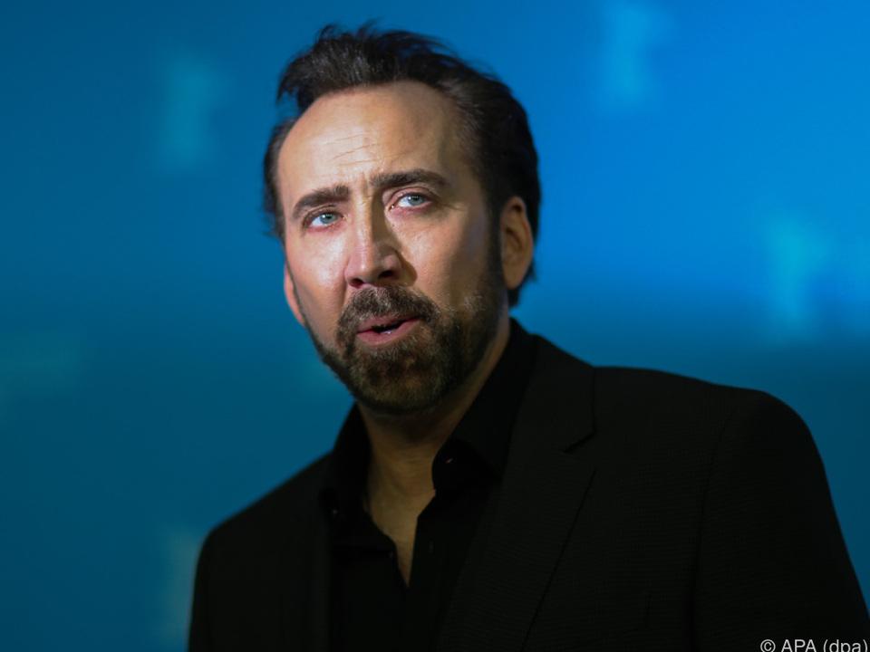 Nicolas Cage besucht Deutschland