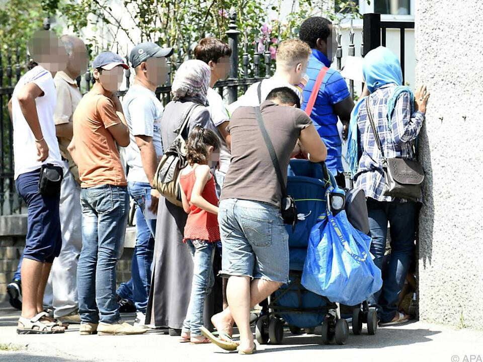 Österreich verzeichnete pro eine Million Einwohner 1.241 Asylanträge