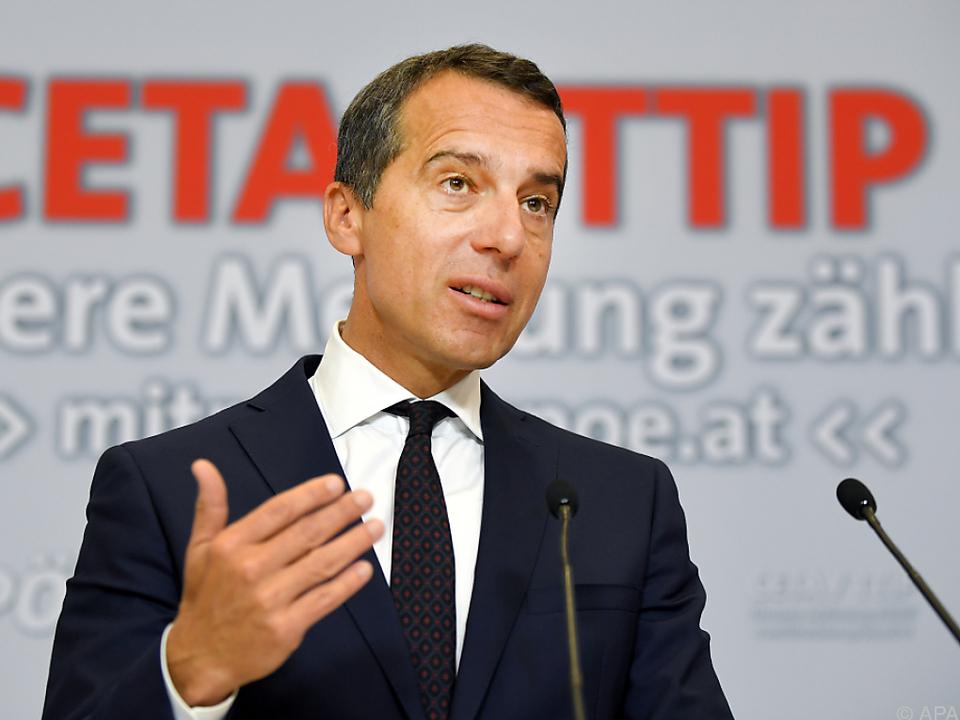 ÖVP schießt sich auf Bundeskanzler Kern ein