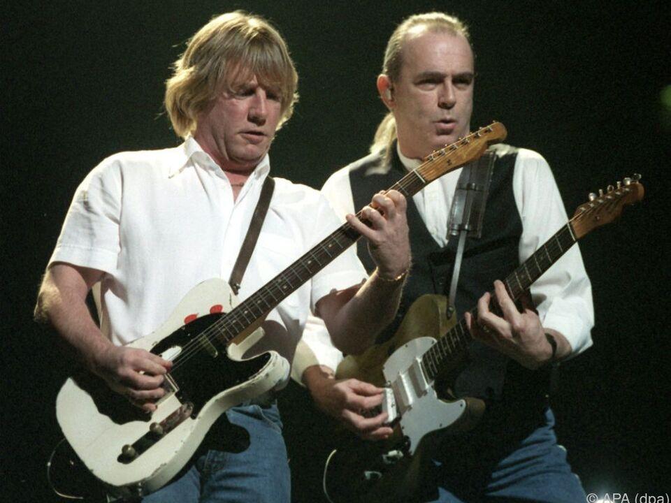 Parfitt (links) auf einem Archivfoto von 1999