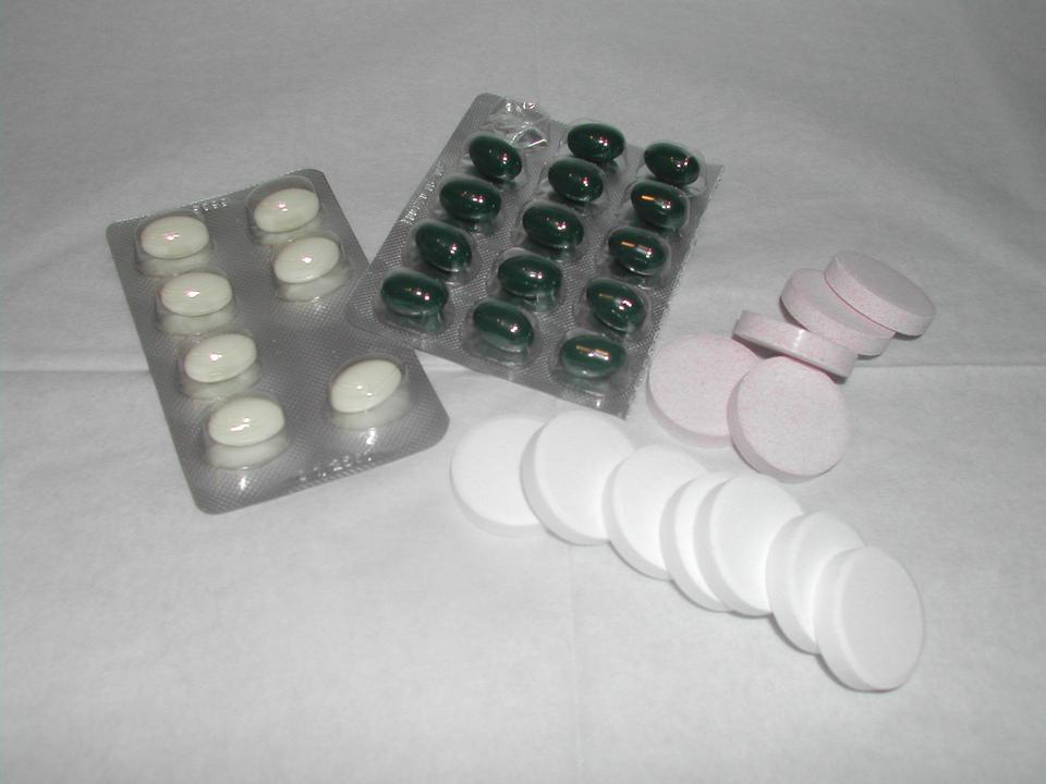 Pillen Tabletten