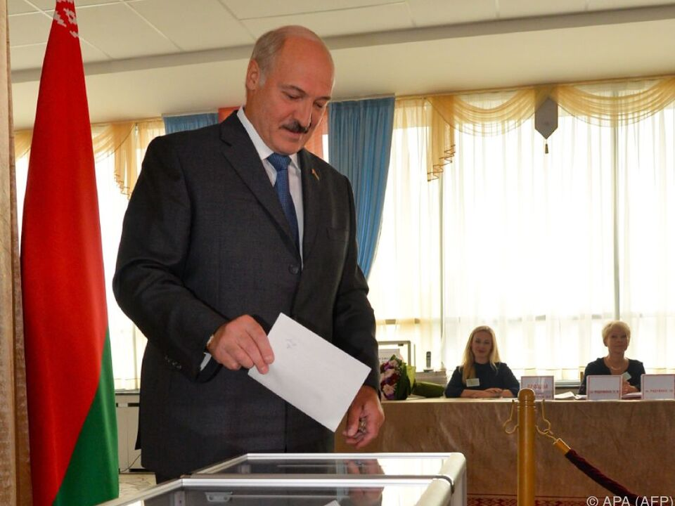 Präsident Lukaschenko muss nicht um seine Macht bangen