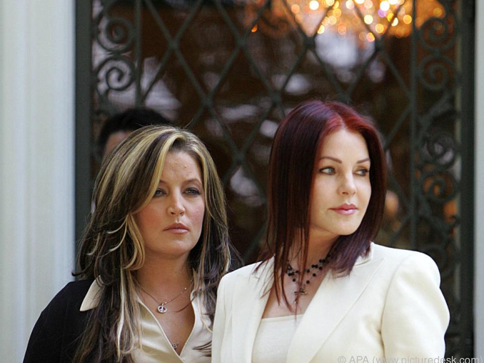 Priscilla Presley mit ihrer Tochter Lisa Marie