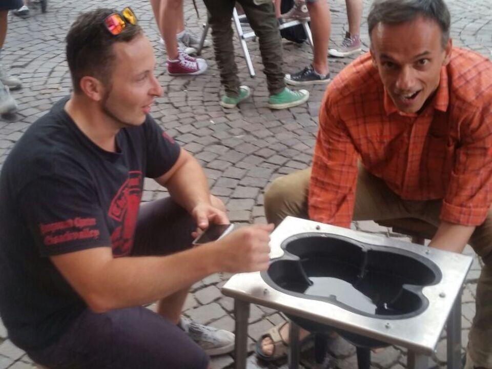 Rainer Fink und Markus Doggi Dorfmann